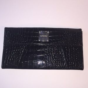 Miche black faux skin bag magnetic cover